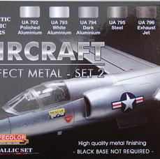 LifeColor Aircraft Perfect Metal Set 2, Box Art