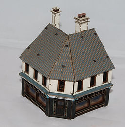 Corner Shop in 15mm Scale