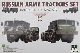 KZKT 537L and MAZ 537 in 1/72