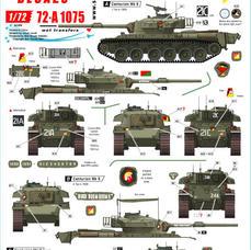 72-A 1075 Australian Centurions in Vietnam