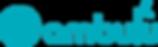 ambulu logo and wordmark left aligned te