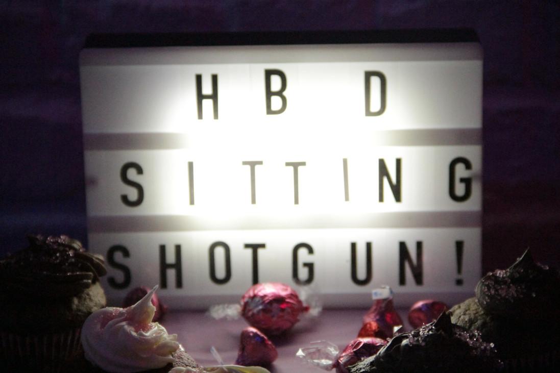 Sitting Shotgun's 1 year anniversary
