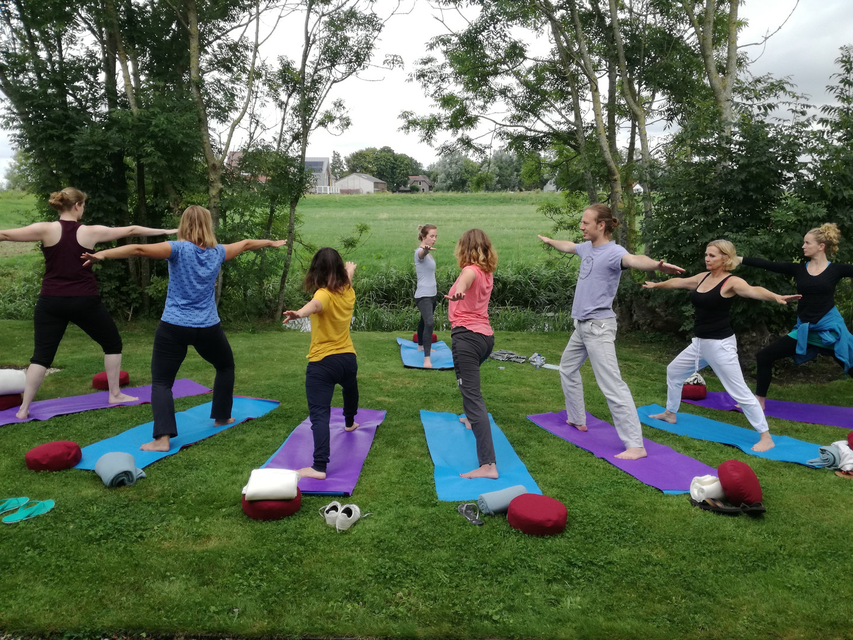 ochtend hatha yoga