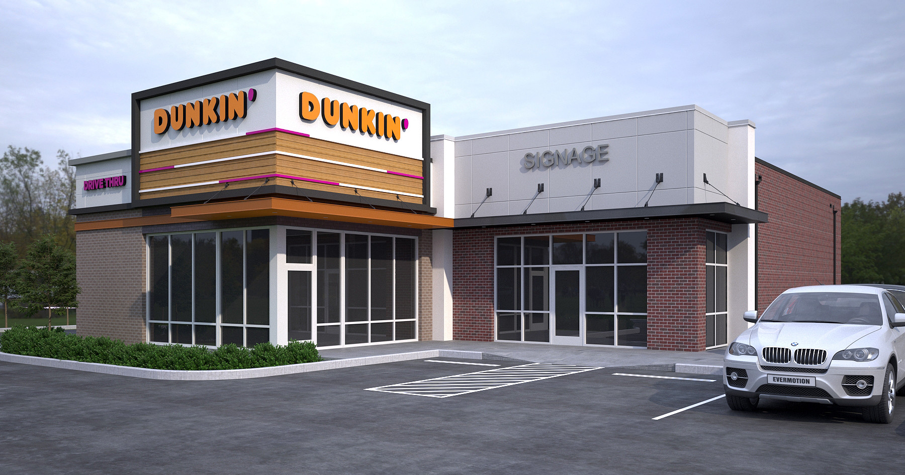 Dunkin Donuts Franchise Design