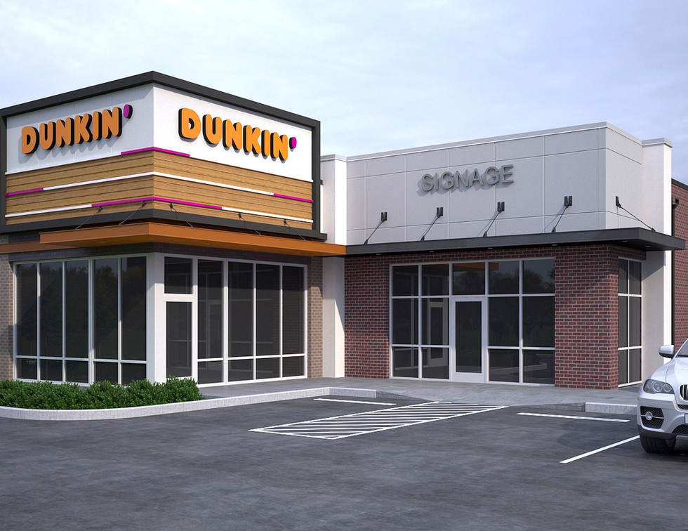 Dunkin Donuts Franchise Design