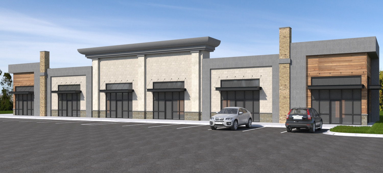 retail exterior concept rendering