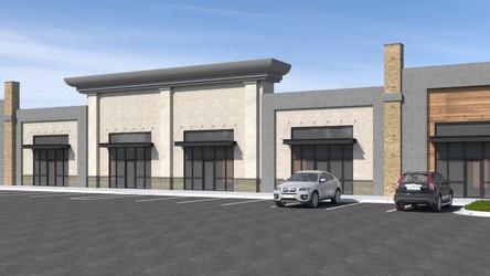 Retail Exterior Design Rendering