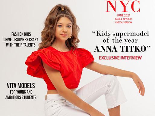 """Kids supermodel of the year               ANNA TITKO"""