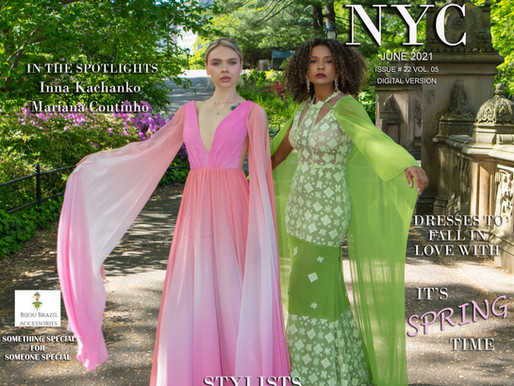 Stylists MAISA AND NATALIA GOUVEIA Paint NYC With Their Spring Collection