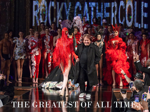 The Greatest of all Time Designer     ROCKY GATHERCOLE Passes away at 54