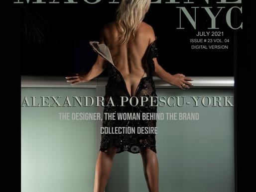 ALEXANDRA POPESCU-YORK           The Designer, The woman Behind the Brand