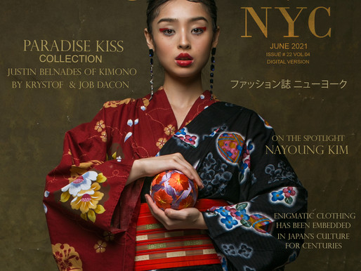 Paradise Kiss Collection Justin Belnades of Kimono by Krystof & Job Dacon