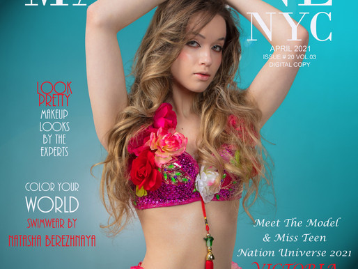 Meet The Model & Miss Teen Nation Universe 2021 VICTORIA NOWAK