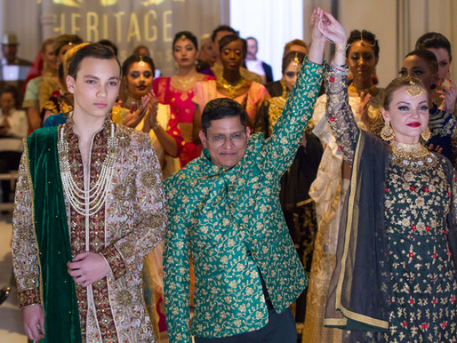 """HERITAGE INDIA FASHIONS   by  Prashant Goyal """" Style Couture Collection"""" NYFW   by EPN FW"""