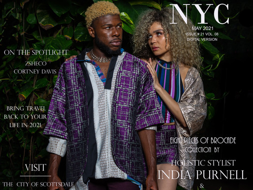 Holistic Stylist INDIA PURNELL & Kimono Designer  Cody Chris Matthieu