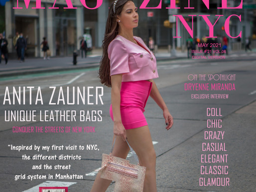 ANITA ZAUNER Unique Leather Bags Conquer the Streets of New York