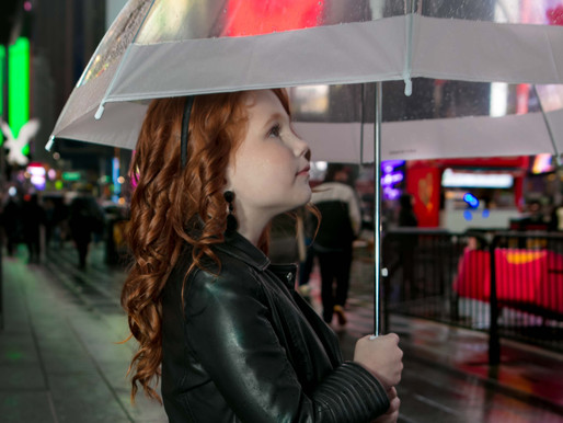 Meet the 7 year old experienced            model and actress.  Mirabel Schwartz