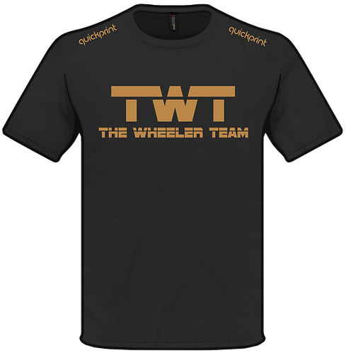 TWT T-shirt GOLD