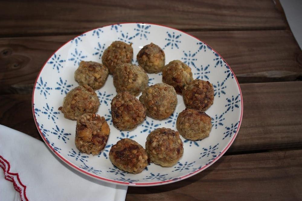 Albóndigas de trigo sarraceno al pimentón