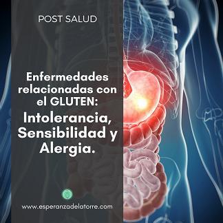 Enfermedades relacionadas con el gluten: intolerancia, sensibilidad y alergia