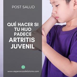 Qué hacer si tu hijo padece Artritis Juvenil
