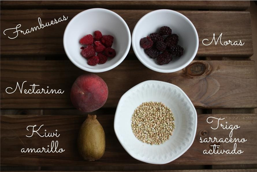 Ingredientes 2 Smoothiebowl