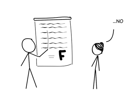 Flunk Your Next Test