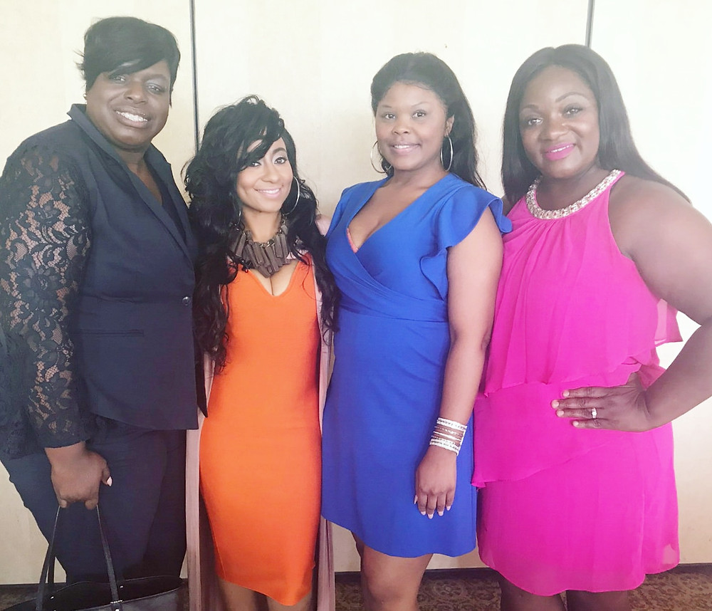 Tambra Cherie and guests at Women Brunch Mississippi