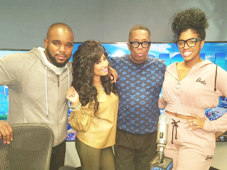 Tambra Cherie Guest Co-Host on Dish Nation