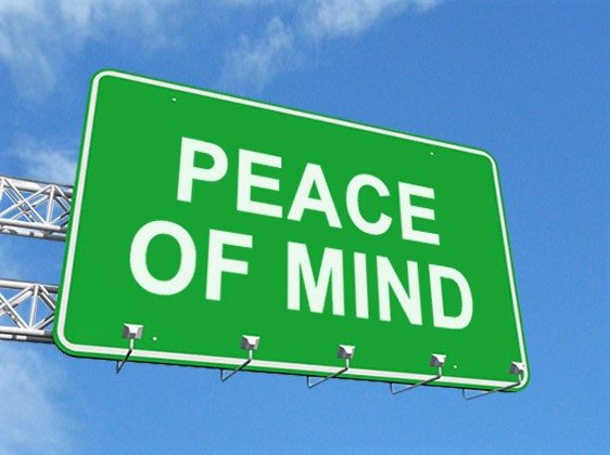 A Peace of Mind is Priceless