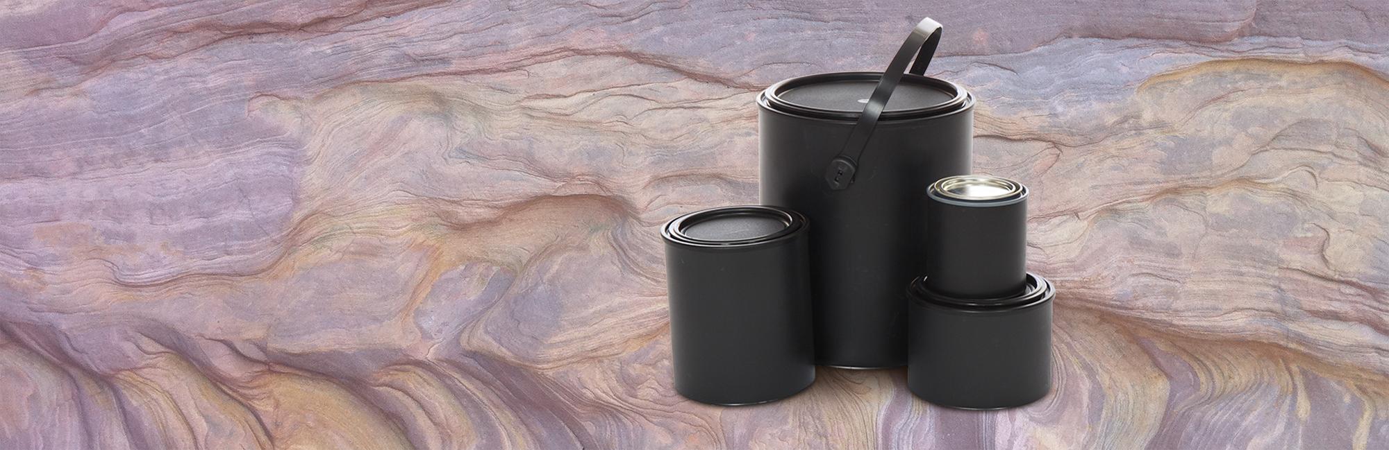 Plastic Paint Cans