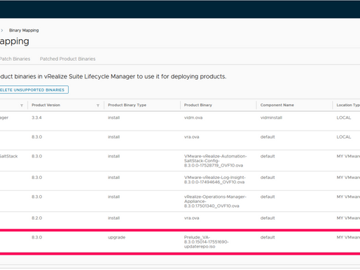 Behind the Scenes: vRealize Automation Upgrade 8.2 to 8.3