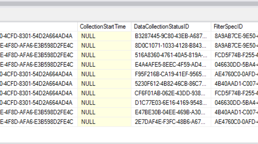 vRealize Automation DataCollection schedules