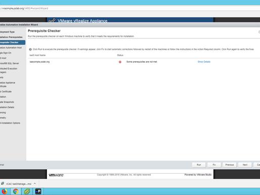 Installing vRealize Automation 7.5