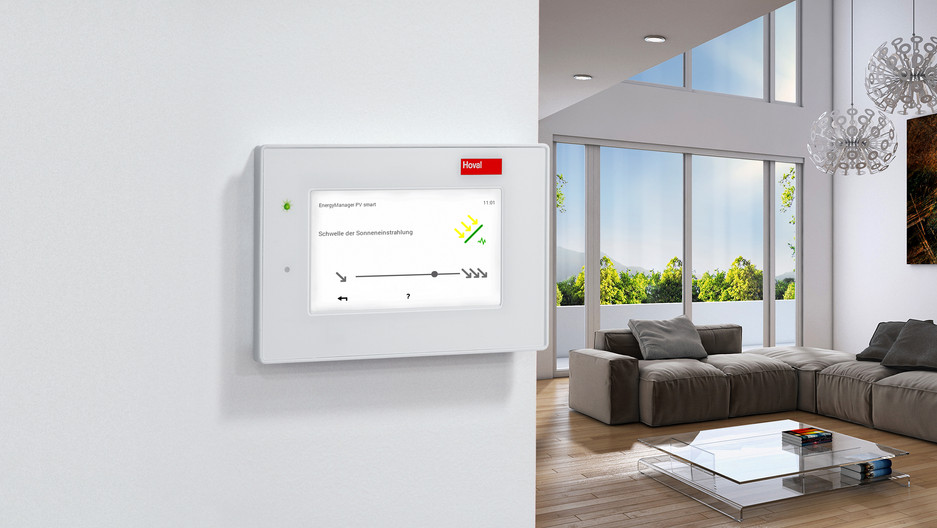 Hoval EnergyManager PV smart: Der Unterschied zwischen Tag und Nacht
