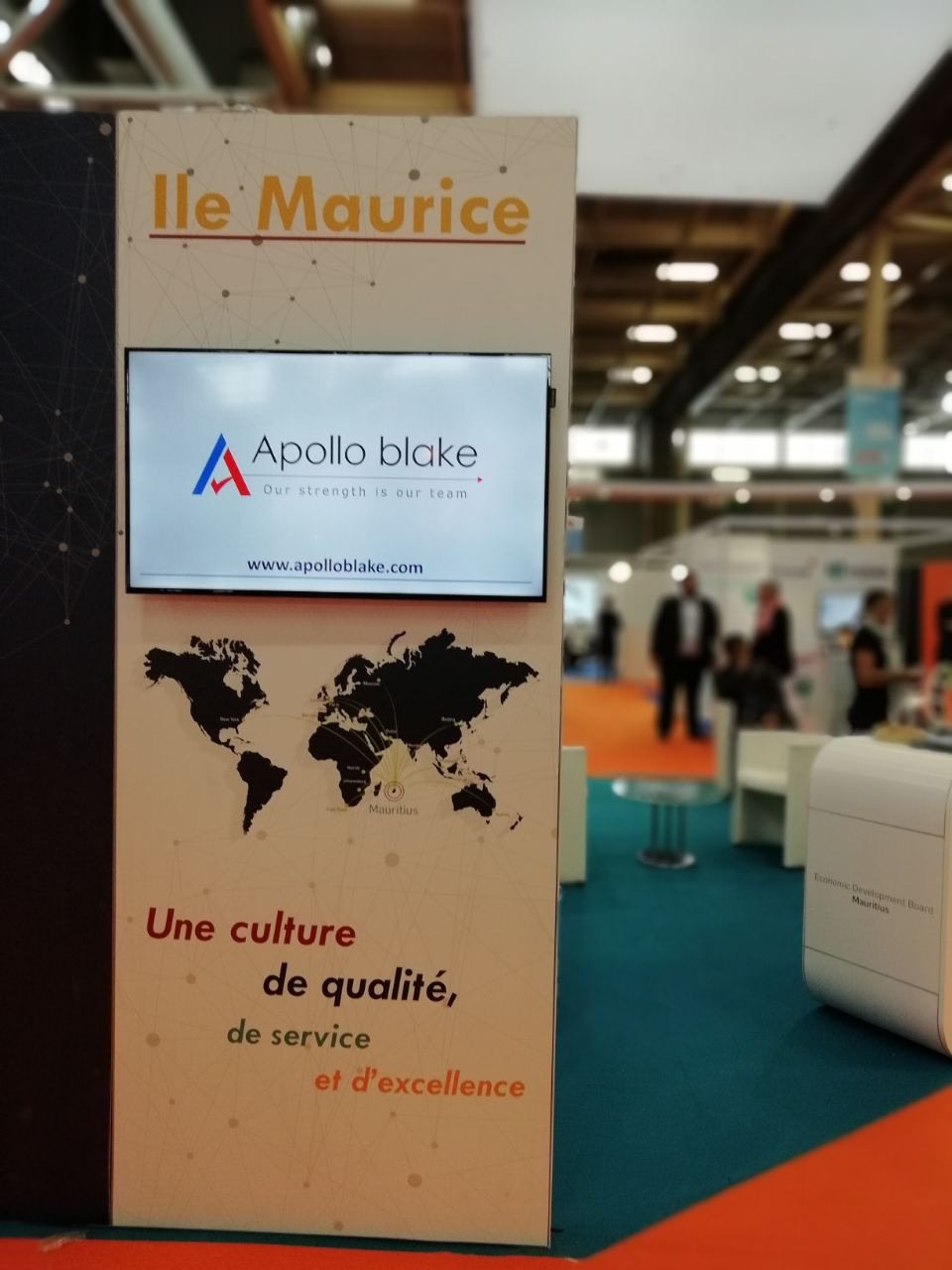 Apollo blake at SECA salon Paris  |   Apollo blake à Paris – Salon SECA 2018