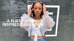 A Flirty Spring Inspired Zara Look