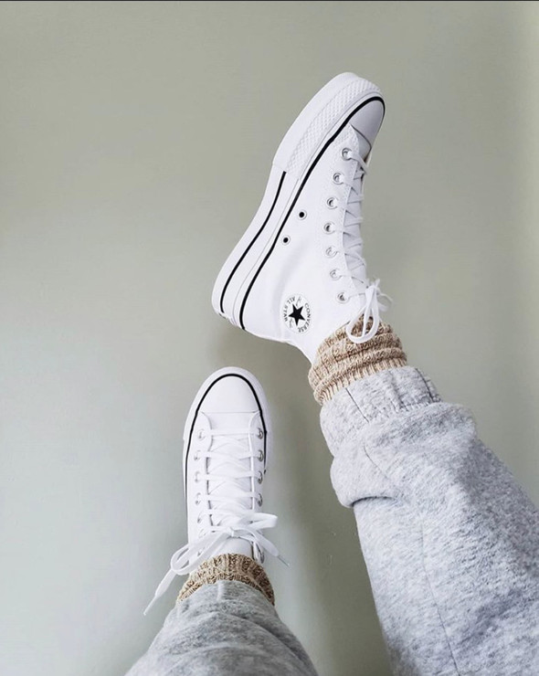 Nothing better than a clean pair of white chucks