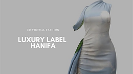 Luxury Label Hanifa Breaks the Internet With Virtual 3D Fashion Show