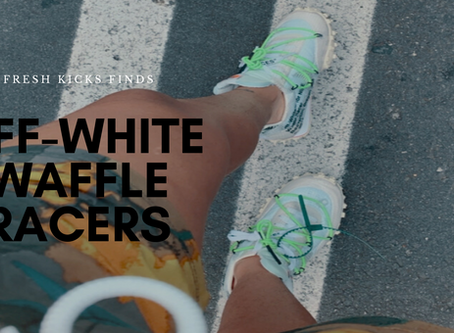 Sneaker Review: I Used GOAT To Purchase My Off White Waffle Racers