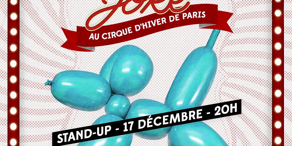 One More Joke X Cirque d'Hiver