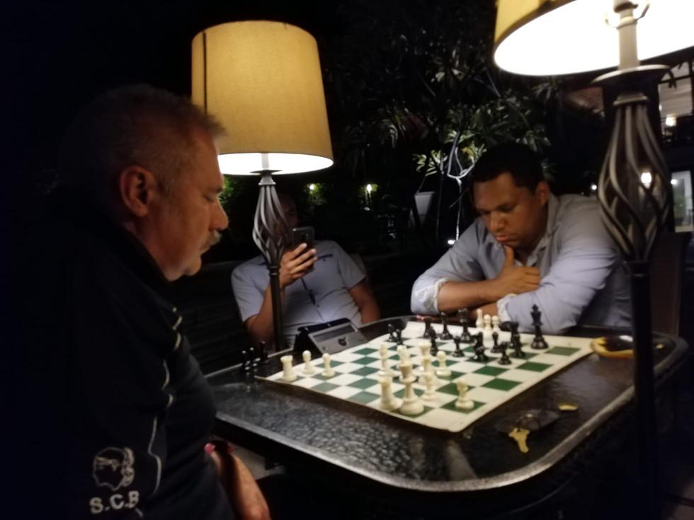 Philippe Pierlot à Port au Prince pour Chess For Haïti