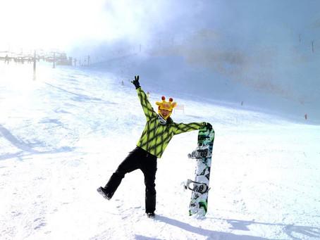 泛舟哥的第一次滑雪日記