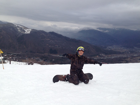 燒屁股學滑雪