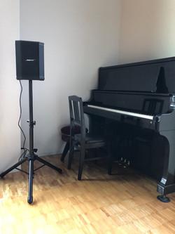 ピアノとオーディオ