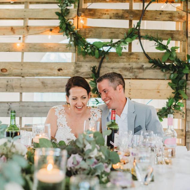 Outdoor Wedding Pallet Backdrop -