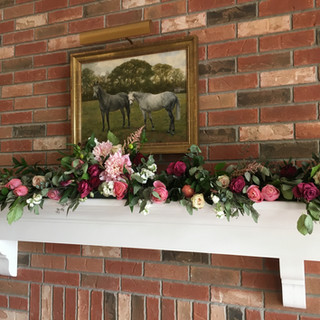 Fireplace Mantle Ceremony Site