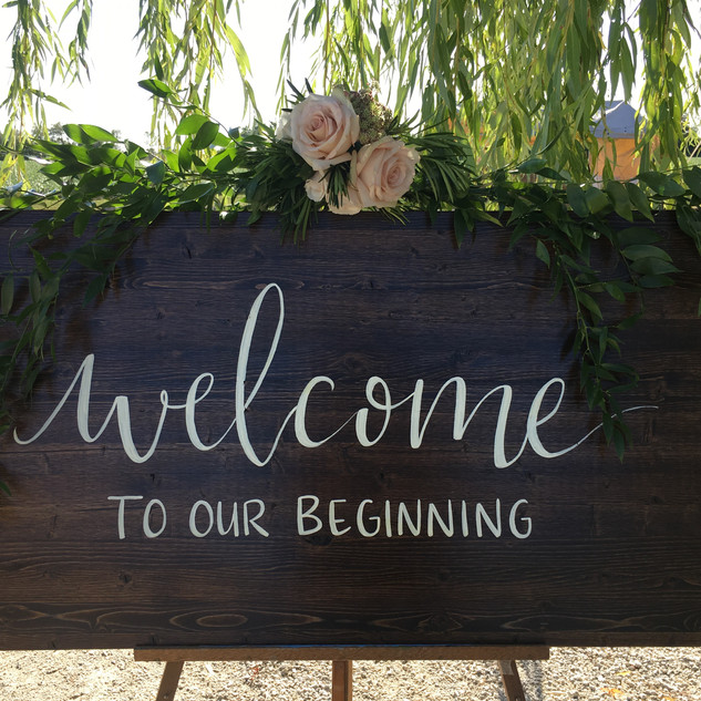 Welcome to our  beginning!