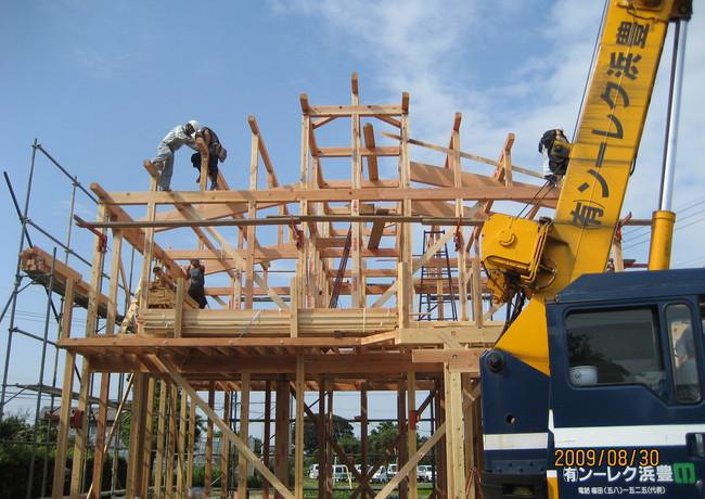 平成21年 木造新築 S様邸施工事例(02/06枚)