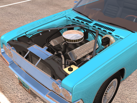 Mod Development Update: Engine Swap Gavril Barstow F2